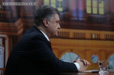 Порошенко в Одессе открестился от разговора с Путиным о передаче Донбасса