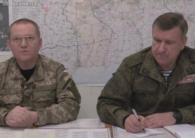 В штабе АТО продолжают переговоры с российским генералом - договорились контролировать прекращение огня