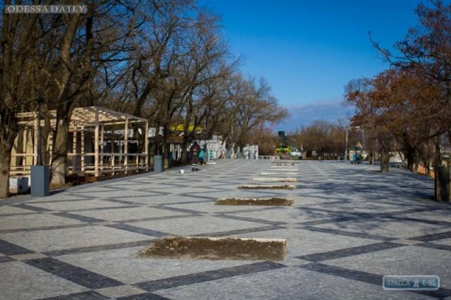 Возле двух шаров на Ланжероне в Одессе обустроили новую набережную