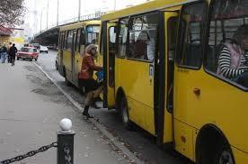 В Киеве начали закрывать частные маршутки