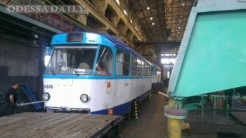 Запорожский электровозоремонтный завод восстановит трамваи Одессы