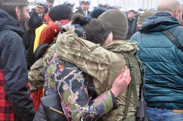 Из АТО в Одессу вернулся спецназ ВМС Украины. ФОТО