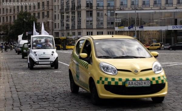 В рамках празднования Дня независимости Украины в Киеве прошел ряд эко-мероприятий под символическим слоганом «Время энергетической независимости»