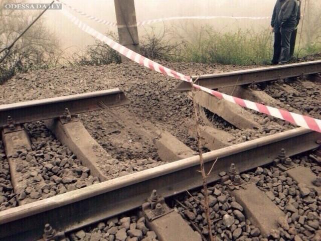 Теракт под Одессой: взорваны железнодорожные пути