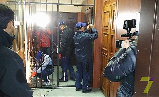 Глава одесской полиции Лордкипанидзе приказал снять все решетки в отделах полиции