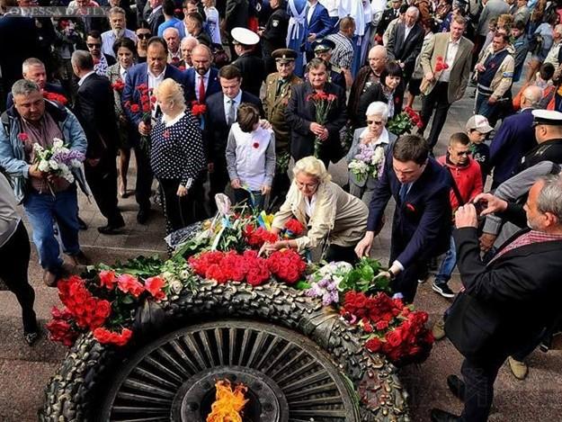 В Одессе празднуют 72-ю годовщину победы над нацизмом