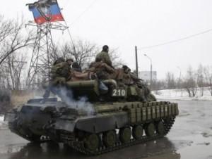 ОБСЕ зафиксировала 32 танка боевиков у линии соприкосновения