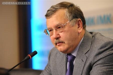 Анатолий Гриценко : Нужно признать факт российской военной агрессии
