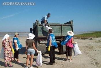 Общественный совет при Одесской ОГА: Очистим берега Куяльника от скопившегося мусора!