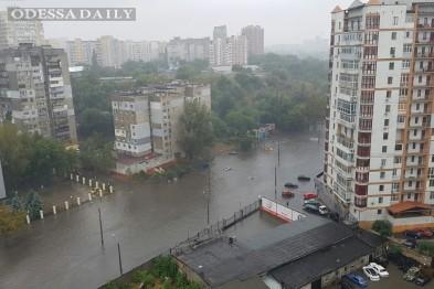 Непогоду в Одессе городские власти объявили стихийным явлением