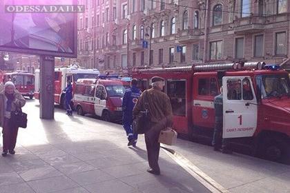 Пожар в петербургском метро потушен