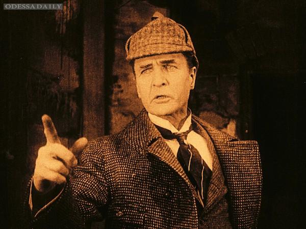 Уникальный фильм о Шерлоке Холмсе будет представлен на Потемкинской лестнице