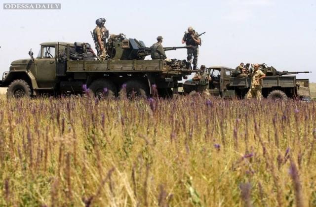 Штаб АТО зафиксировал рекордные нарушения Минских соглашений