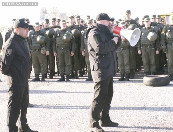 В преддверии 2 мая улицы Одессы заполонила Нацгвардия