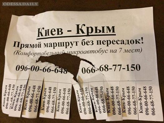Журналист просит СБУ разобраться с маршрутками в Крым