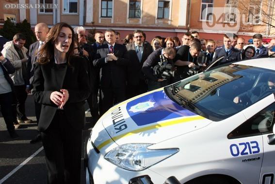 Эка Згуладзе: В Одессе представлена принципиально новая правоохранительная система