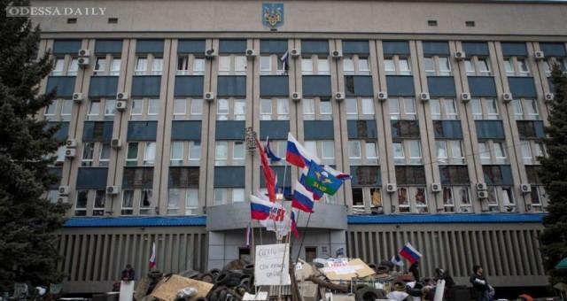 В Донецке у штаба сепаратистов взорван фугас