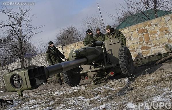 Боевики с утра атакуют силы АТО в Широкино - штаб Мариуполя