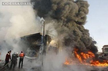 Мощный взрыв произошел на оружейном заводе в Азербайджане