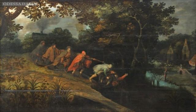 ВОдессе обнаружили картину старинную кисти Питера Брейгеля Старшего
