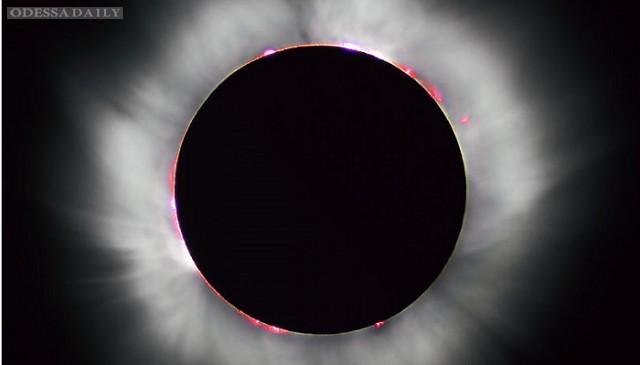 В NASA показали как будет проходить полное солнечное затмение 8-9 марта (ВИДЕО)