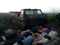 В Ровенской области задержаны янтарные старатели, промышлявшие в заповеднике