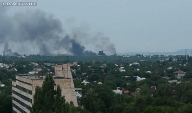 Сводка ИС: всю ночь не прекращался обстрел аэропорта в Луганске