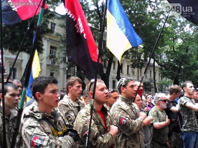 Правый сектор предупредил о провокациях сепаратистов в Одессе