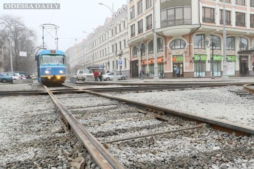 В Одессе Тираспольскую площадь открывают для движения трамваев