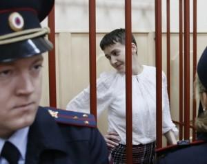 Савченко в суде переводит свою книгу на русский
