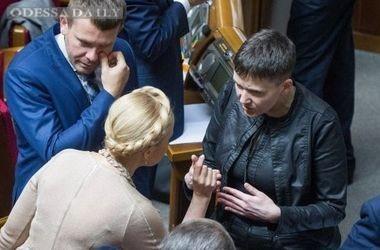 Савченко отказалась поддерживать Тимошенко