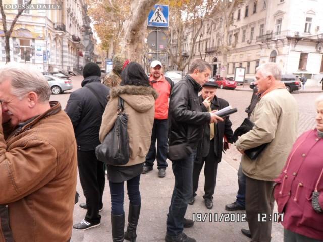Обращение Андрея Сидоренко к одесситам по поводу протеста предпринимателй