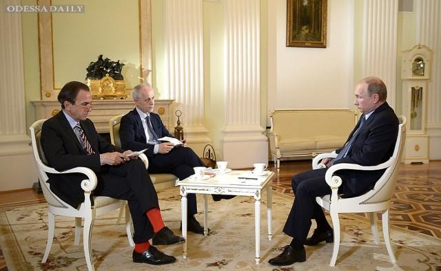 Путин рассказал свою версию возникновения кризиса вокруг Украины