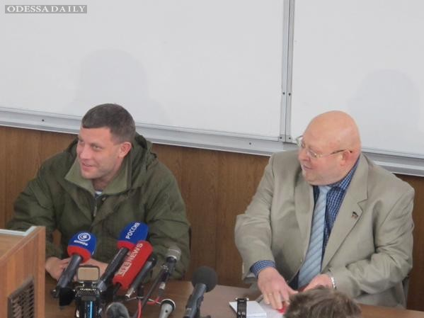Захарченко сорвал перемирие и пообещал наступать по трем фронтам