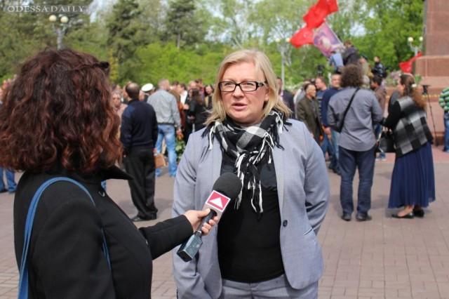 Cветлана Фабрикант поздравила одесситов с Днем Победы