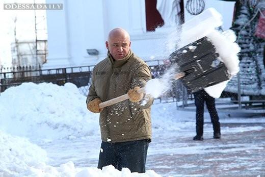 Труханов уволил почти всех ответственных за уборку снега в Приморском районе