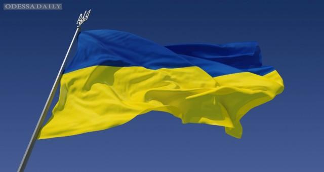 Пятеро человек задержаны за вывешивание украинского флага у Кремля (видео)