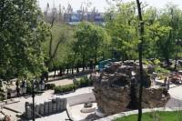 Возле Одесской мэрии снесли забор
