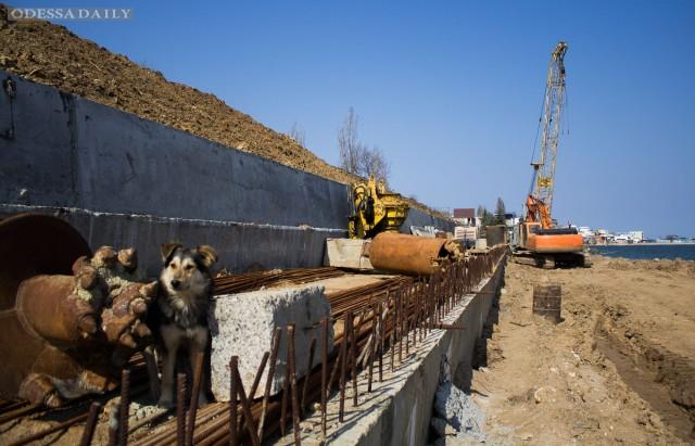 Одесская область: в Черноморске нет денег на берегоукрепительные работы